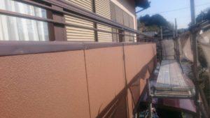 ベランダ外壁 塗装
