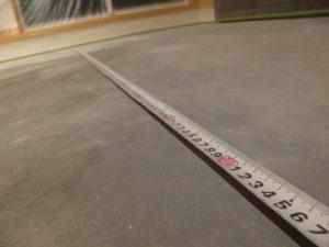 土間コン 計測