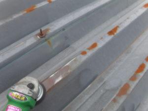 セッパン屋根 ケレン 電動工具