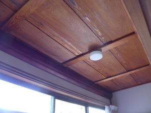 天井 塗装完了